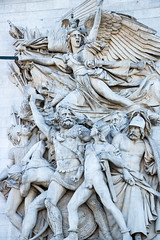 Arc de Triomphe (mionnay) Tags: 2016 paris arcdetriomphe neoclassicism sculpture