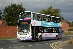full freshers (D Stazicker Photography) Tags: first leeds buses wrights volvo bradford 37363 group bus