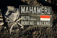 Mahameru. Top of Java. (backpacker.lamongan) Tags: mahameru leatherman