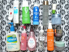 Skincare Empties Cleanser Moisturizer Toner Lotion Sunscreen Makeup Remover Oil (musicalhouses) Tags: skincare skinproducts empties vichy secretkey hadalabo asianbrands asianskincare koreanbrands koreanskincare sunscreen sunblock sunscreens sunplay avene lotion toner moisturizer nightcream laneige alphahydrox ujene thefaceshop cleanser cetaphil oilcleanser makeupremover dhc biore fancl