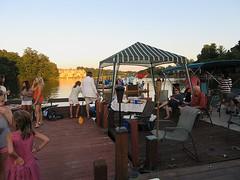 Boats Gathering for Lake Thoreau Boat Party (procktheboat) Tags: lakethoreau boatparty boatbash restonvirginia restonva