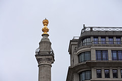 The Monument and Pudding Lane (Dun.can) Tags: greatfireoflondon 1666 350thanniversary monument london puddinglane christopherwren wren ec3 cityoflondon 17thcentury