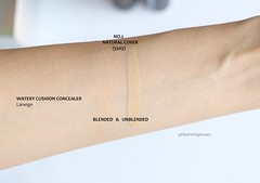 Laneige Watery Cushion Concealer No.2 swatch (<Nikki P.>) Tags: makeup beauty laneige