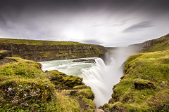 Gullfoss Waterfall (peter_beagan) Tags: ngc sigma 1020 iceland waterfall canon 600d water long exposure 10stop nd filter