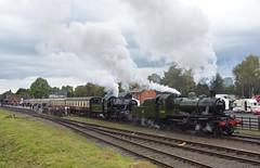 GCR Steam Gala (8) (lewispix) Tags: lmsr mogul 260 46521 78018 gcr steam railway
