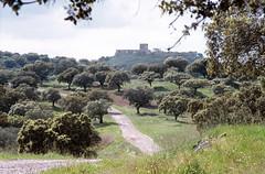 Noudar Castle, Barrancos, Portugal (Jim 592) Tags: castle holm oak grove portugal alentejo barrancos noudar europe