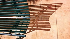 42/52 Shadows [in explore] (Isa****) Tags: banc bench ombre shadow