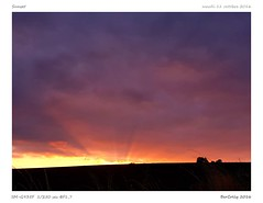 Sunset (BerColly) Tags: france auvergne cantal sunset coucherdesoleil nuit night ciel sky nuages clouds bercolly google flickr