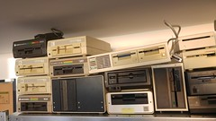 Floppy Disk Drives (stiefkind) Tags: vcfb vcfv16 vcfb2016 cc0 huberlin signallabor medienwissenschaft floppy floppydisk floppydrive diskdrive 1551 1541
