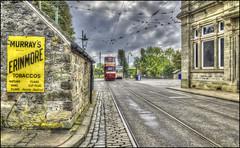 Crich Tramway Village (Darwinsgift) Tags: crich tramway village tram national museum street hdr matlock derbyshire voigtlander 28mm f28 color skopar sl ii photomatix brilliant