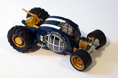 Lunatic (Genghis Don) Tags: lego car space scifi moon buggy spacefraft moc