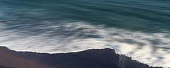 Wavelength (Bruus UK) Tags: teignmought devon sand dark wave shore tide sea coastal beach movement grain blur contrast smooth wash water