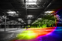Valley View (janeelise_r) Tags: color rainbow abandoned warehouse soar running faith
