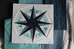 Swappen 8 Hintergrund (frostpatterns) Tags: swappenaufdeutsch wombat quilts compass many colors foundation paper piecing