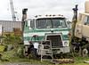 Retired International Transtar II cabover (Thumpr455) Tags: truck semi tractor heavy machinery international intl ih cabover coe neglected abandoned transtarii junkyard nikon d800 afnikkor7300mmf4556vr
