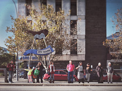 Everyday #Adelaide No. 367 (michellerobinson.photography) Tags: michellerobinson michmutters streetphotography streetlife life waiting tram stop adelaide southaustralia australia fujifilm xseries xt10 people candid color photography 4tografie flickrelite