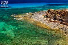 Aguas sin secretos (Andres Breijo http://andresbreijo.com) Tags: transparente agua water mar sea mediterraneo mediterranean isla island formentera baleares espaa spain playa beach cuevas caves