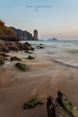 Ao Nang Beach (greg02100) Tags: thailande thailand landscape aonang krabi paysage longexposure goldenhour sunset blending monkey beach seascape sea wideangle 17mm canon 5d