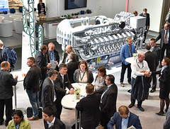 Innotrans2016_15 (Rolls-Royce Power Systems AG) Tags: mtu innotrans rollsroyce power systems rail bahn locomotive engine powerpack