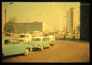 Parkplatz an der Johanniskirche Chemnitz, Foto 1 von 3 ,  Zweitakt-Dimensionen