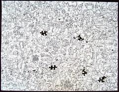 Color Me Purrr-fect! - finally done! (Leonisha) Tags: jigsawpuzzle puzzle springbok cats katzen ktzchen schwarzweiss kittens