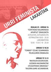urriFeminista (lakaxita gaztetxea) Tags: urrifeminista feminista