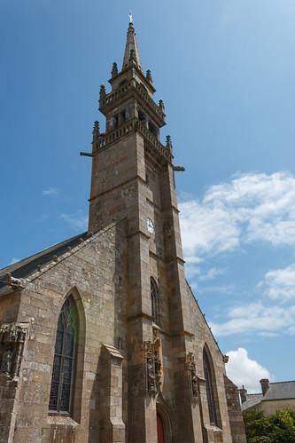 L'église Sainte Croix du Conquet