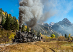 MP 490.7 - Elk Park Siding (kdmadore) Tags: drgw denverriograndewestern durangosilverton dsng durango silverton steamlocomotive steamengine railroad train narrowgauge