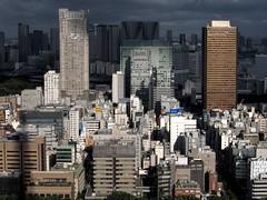 Licht und Schatten (Fehlfokus) Tags: tokyotower tokyo city
