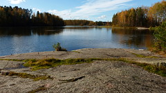 River Kymijoki at Pessankoski (Kouvola, 20161002)