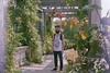 ° (°Bracket) Tags: nikonem50mmf18 london 333bracket 35mm film analogue boy idan garden flowers satan peach obey