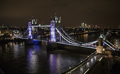 Tower Bridge from City Hall (Hawkeye2011) Tags: london 2016 nightphotography riverthames uk building architecture towerbridge victorian