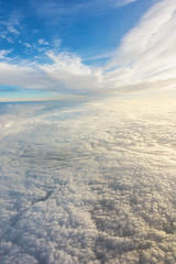 Untitled (Ivan Galic) Tags: clouds cloud sky blue white sunlight sunny cloudy flight flying high altitude view vast