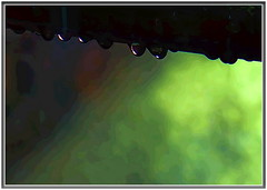 Mike is back with an abstract... (Mike Goldberg) Tags: droplets railing sprinkler sunshine jerusalemvicinity canong16 mikegoldberg hss