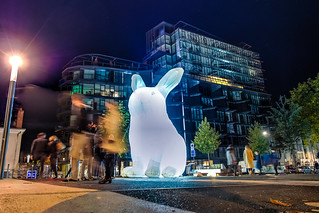 I see giant bunnies...