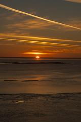 Sunset over the Beaufort Sea (blkwolf1017) Tags: sunset arcticocean beaufortsea prudhoebay deadhorse alaska canon50d sigma2470mm
