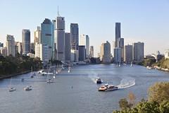 Brisbane City CBD and River (Photos by Lance) Tags: postcard brisbanecity ferry flickr sunset outdoor boats citycat translink brisbanecitycouncil brisbanecbd cbd queenslandaustralia river waterfront city afternoonlight