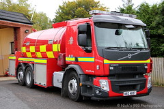 Northern Ireland Fire & Rescue Service / W4373 / KRZ 4837 / Volvo FE-320 / Water Tanker (Nick 999) Tags: northern ireland fire rescue service w4373 krz 4837 volvo fe320 water tanker nifrs belleek blue lights sirens led leds emergency belleekfirestation northernirelandfirerescueservice whiskey4373 krz4837 volvofe320 watertanker