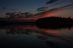 IMG_1852-1 (Andre56154) Tags: schweden sweden sverige wolke cloud himmel sky nacht night dmmerung dawn abendrot afterglow sonnenuntergang sunset schren archipelago ozean ocean meer sea wasser water reflexion spiegelung reflection