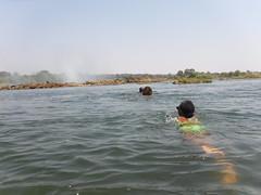 Swimming to the Devil's Pool, Victoria Falls, Zambia - Sept 2016 (Keith.William.Rapley) Tags: swimmingtothedevilspool victoriafalls zambia septmber2016 rapley zambezi river zambeziriver devilspool topofvictoriafalls