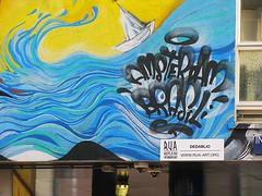 DEDABLIO (streamer020nl) Tags: amsterdam 2016 111016 11oct16 holland nl nederland netherlands niederlande paysbas mural wallpainting muurschildering streetart dedablio insulindeweg oost rua brasil amsterdamoost