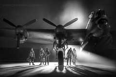 We Will Remember Them (70C Photography) Tags: raf bombercommand avro lancaster lincolnshire justjane eastkirkby gone never forgotten bomberboys monochrome ghosts lost pilots crew generation night dark tle 2016 canon7d jamescummins remembered