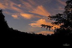Sunset from my home. (E S M Photography) Tags: ngc sunset home puertorico view caribbean clouds sky blue orange high