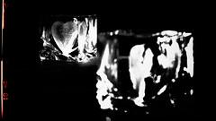 Broken-Heart-Syndrom (montagestaender) Tags: mirro spiegel heart herz glas light dark lowkey licht schatten hell dunkel komposition schwarzweiss blackwhite filter