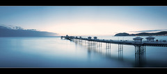 Ocean Colour Scene (A-D-Jones) Tags: ocean blue sea seascape wales landscape pier seaside long exposure north filter nd llandudno conwy