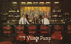 The Village Pump (Namey McNamerson) Tags: village indianapolis postcard indiana pump van kramer kromer arsdall kroemer