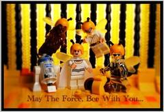 May The Force Bee With You... (Legoagogo) Tags: starwars chichester moc afol legoagogo