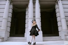 SDF_0470-2 (SendoFu) Tags: bonnet ボンネット エプロン風スカート blouse bl ブラウス headbow kc カチューシャ bnt 蕾絲 維多利亞 jsk op onepiecedress ワンピース jumperskirt ジャンパースカート nop lolita lolitafashion 蘿莉塔 蘿莉塔時裝 ロリータ・ファッション sweetlolita classicallolita