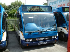 Stagecoach North West Optare Solo 47018 PO51 WLF now in Carlisle (nsf323) Tags: stagecoachnorthwest fleetwoodoutstation