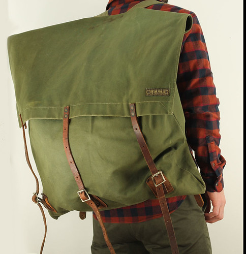 camping vintage gear canvas backpack mensaccessories